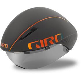 Giro Aerohead MIPS Kypärä, matte grey firechrome